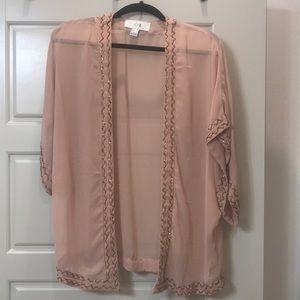 Forever 21 Beaded Kimono